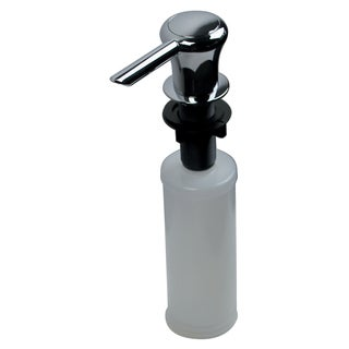 Ultra Faucets UFP-0011 Chrome Kitchen Sink Soap & Lotion Dispenser