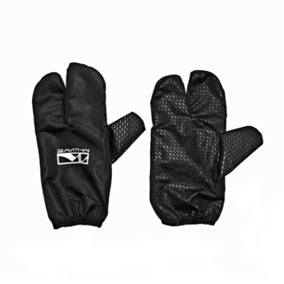 Ventura Claw Black Polyester Split-finger Wind and Water Repellent Glove