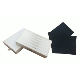Replacement Carbon Filter & 2 R Air Purifier Filter Kit, Fits Honeywell, Compatible with Part HRF-ARVP