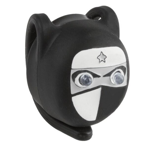 Ventura Ninja 2.3 Black Silicon Flashing Bicycle Light