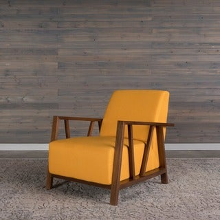 Liberty Mid-Century Modern Sunset Gold Arm Chair by RST Brands