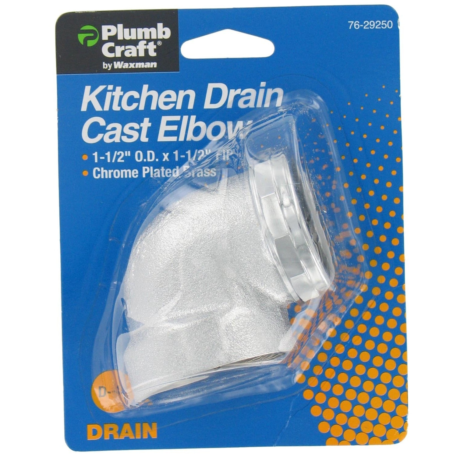 Plumb Craft Waxman 7629250 Kitchen Drain Cast Elbow (Ell ...