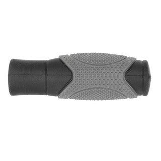Ventura Fat Boy 125 Black/Grey Rubber 125-millimeter Handlebar Grips