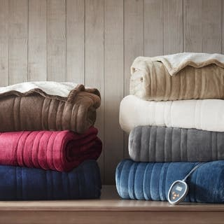 Woolrich Plush to Berber Heated Blanket 7-Color Options|https://ak1.ostkcdn.com/images/products/12489771/P19299771.jpg?impolicy=medium