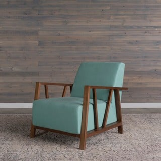 Liberty Mid-Century Modern Blue Topaz Arm Chair by RST Brands