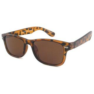 UrbanSpecs Wayfarer-TRT-P Square Brown Polarized Sunglasses
