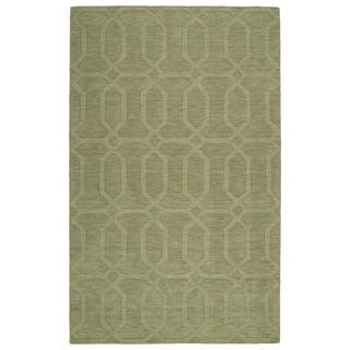 Trends Sage Pop Wool Rug (5' x 8')