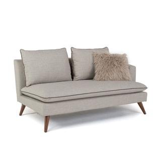 RST Brands Marco Stonewashed Grey Left Arm Sofa