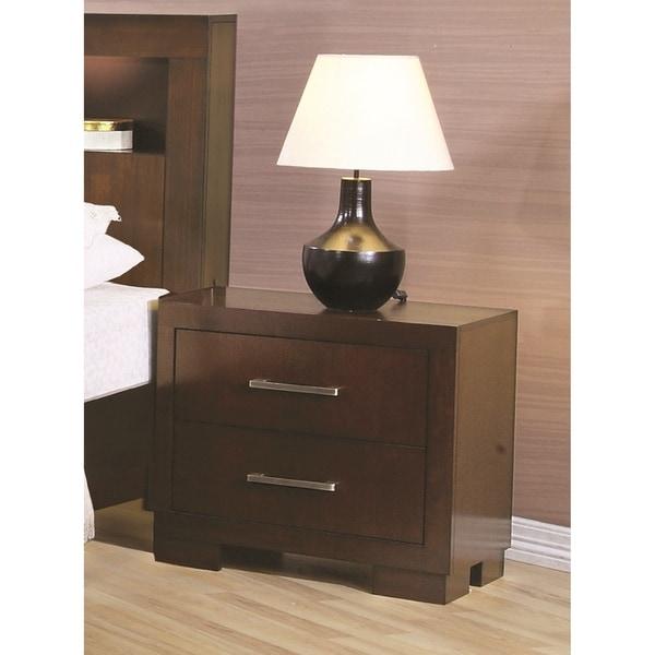 Coaster Company Cappuccino Wood 2-drawer Nightstand