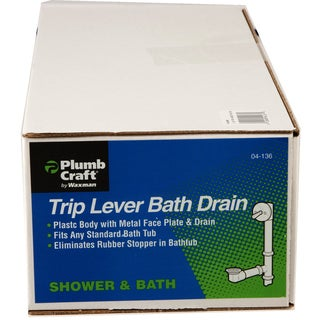 "Waxman Consumer Group 0413600 1-1/2"" Tub Drain Overflow"