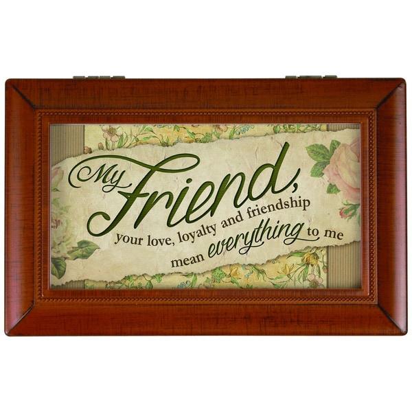 Carson Home Accents 'My Friend' Music Box