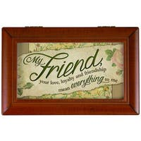 Carson Home Accents 'My Friend' Music Box