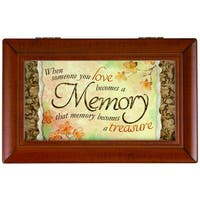 Carson Home Accents 'Memory Treasure' Synthetic Wood Music Box