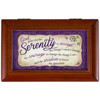 Carson Home Accents 'Serenity Prayer' Music Box