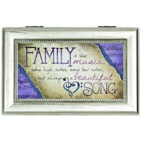 Carson Home Accents 'Family' Music Box