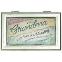 Carson Home Accents 'Love Grandma' Silver Music Box
