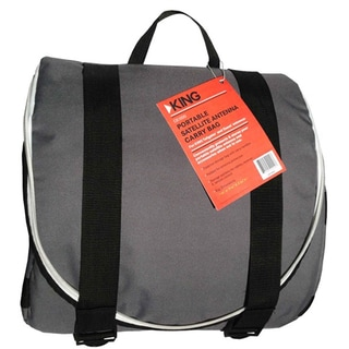 King Satellite Grey Padded Carry Bag for Satellite Antennas