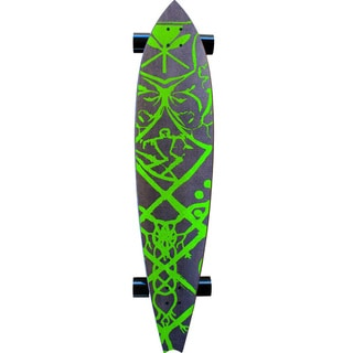Kahuna Creations Haka Neo 47-foot Charcoal Longboard