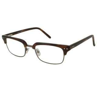 V Optique Square Tortoise Reading Glasses