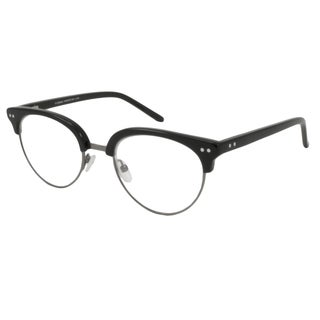 V Optique Round Black Reading Glasses