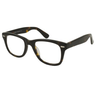 V Optique Square Tortoise And Gold Reading Glasses
