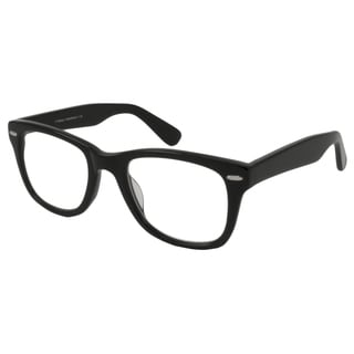 V Optique Square Black And Gold Reading Glasses