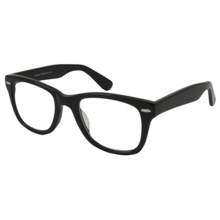 V Optique Square Black And Gold Reading Glasses