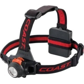 Coast HL27 309 lumens Headlight LED AA Black