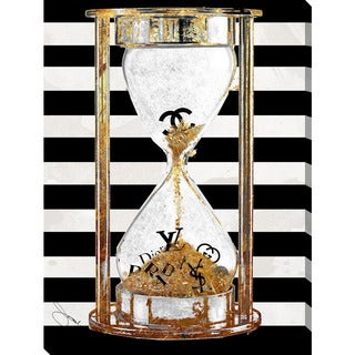 """BY Jodi """"Time For Couture"""" Giclee Stretched Canvas Wall Art"""