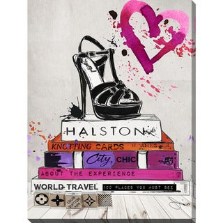 "BY Jodi ""Halston"" Giclee Stretched Canvas Wall Art"