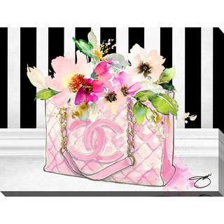 "BY Jodi ""Pink Perfection"" Giclee Stretched Canvas Wall Art"