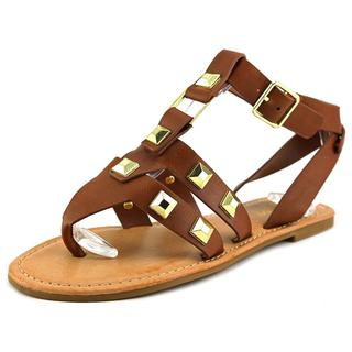 Bamboo Women's 'Bellagio-02' Synthetic Sandals