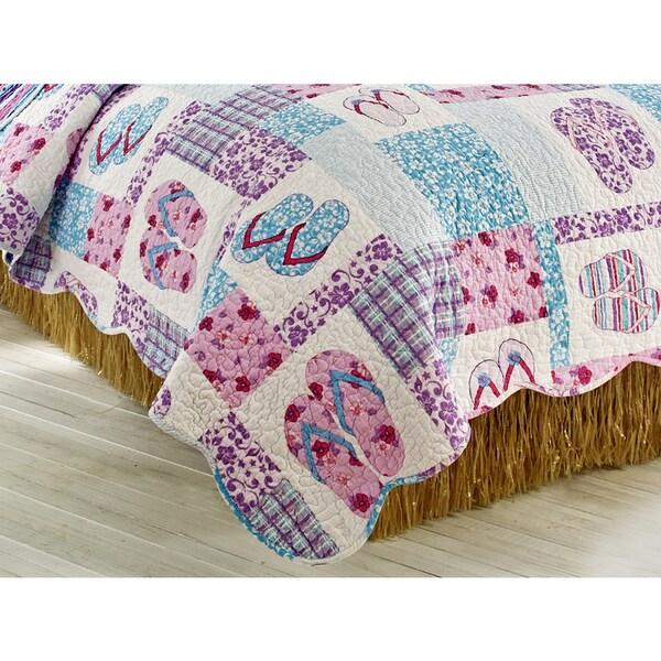 Hula Straw Bed Skirt