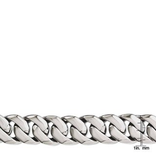 Stainless Steel Polished 9-inch Bracelet