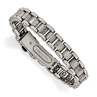 324883bb4f1d Chisel Tungsten Polished and Matte Bracelet - Tungsten Polished