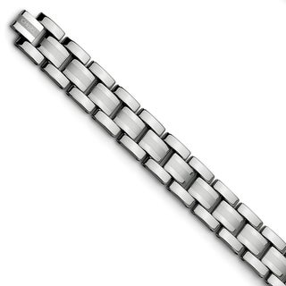 Chisel Tungsten Polished 8.25-inch Bracelet