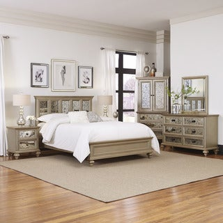 Visions 5 Piece King Bedroom Set by Home Styles