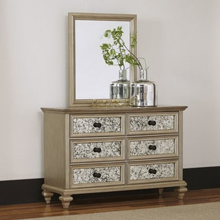Visions Dresser and Mirror by Home Styles