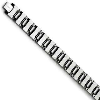 Chisel Tungsten Polished Bracelet|https://ak1.ostkcdn.com/images/products/12491880/P19301599.jpg?impolicy=medium