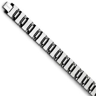 Chisel Tungsten Polished Bracelet