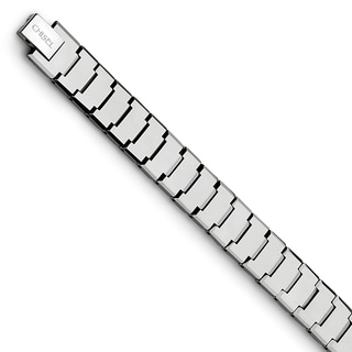 Chisel Tungsten Polished 8.5-inch Bracelet