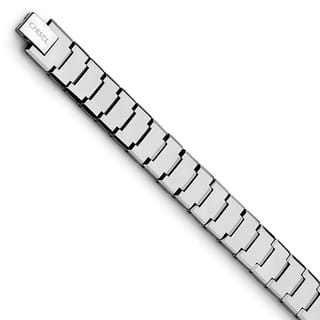 Chisel Tungsten Polished 8.5-inch Bracelet|https://ak1.ostkcdn.com/images/products/12491888/P19301661.jpg?impolicy=medium