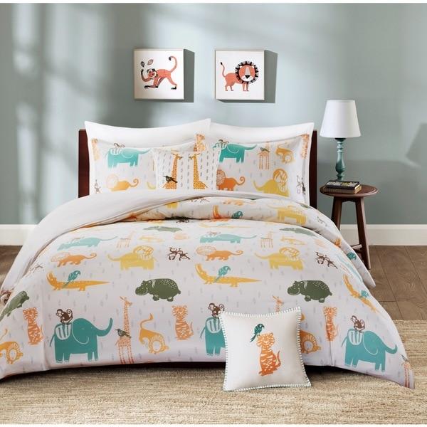 INK+IVY Kids Jacala Multi Cotton Duvet Cover Set