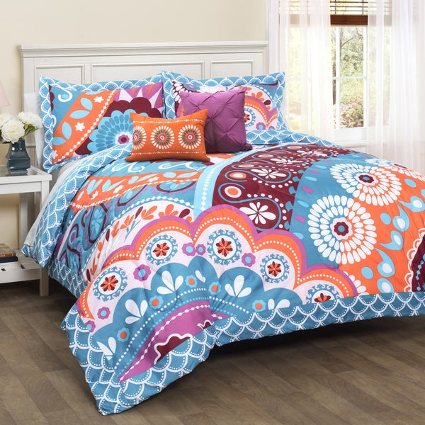 Lush Decor Maya 5-piece Comforter Set