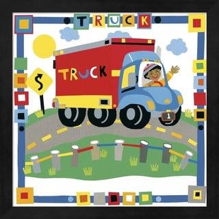 Cheryl Piperberg 'Truck' Framed Art