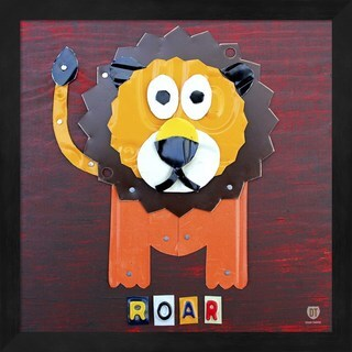 Design Turnpike 'Roar The Lion' Framed Art
