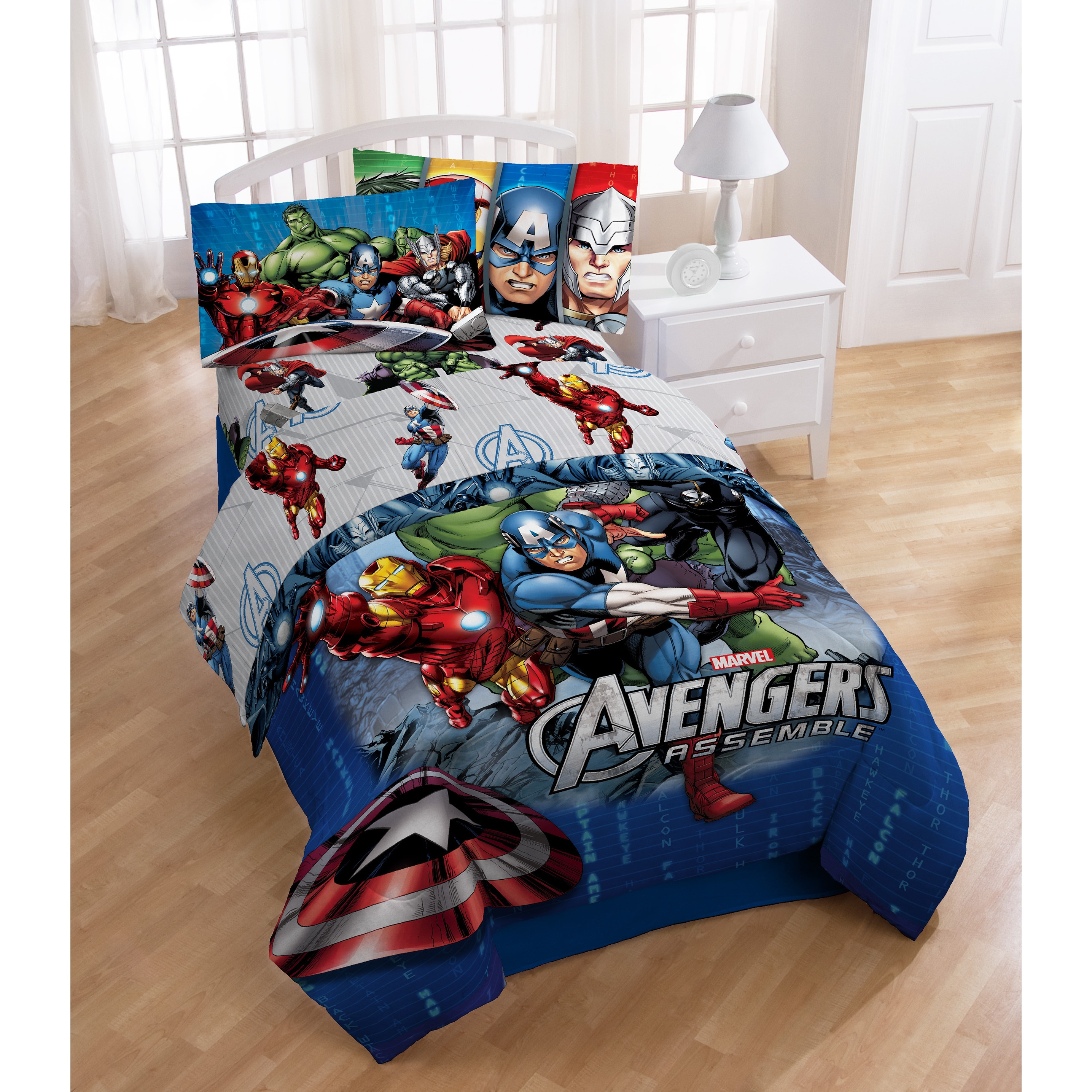 halo marvel with kit itm avengers twin bag sheet bed in new kids a set reversible piece