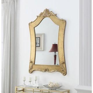 Convenience Concepts Gold Coast Victorian Wood Frame Mirror
