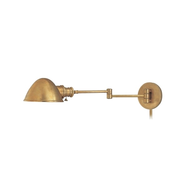 Hudson valley roslyn swing arm wall sconce free shipping for Home interior 5 arm sconce