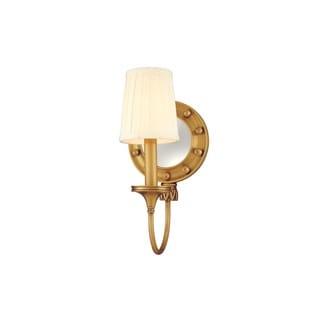 Hudson Valley Regent 1-light Aged Brass Wall Sconce